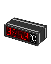 Digital large indicator