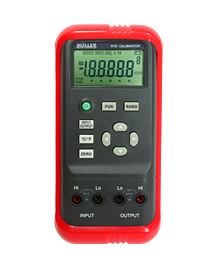Process calibrator RTD