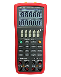 Process calibrator current voltage