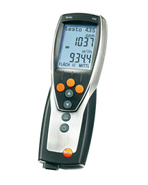 Multifunction meter for climate, ventilation, indoor air quality