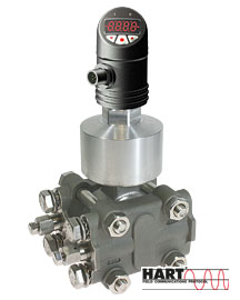 Modular differential pressure transmitter HART