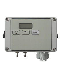 Pressure measuring transducer